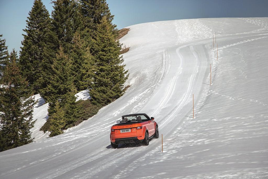Mit dem Range Rover Evoque Cabrio in den Frühling. © spothits/Auto-Medienportal.Net/Land Rover