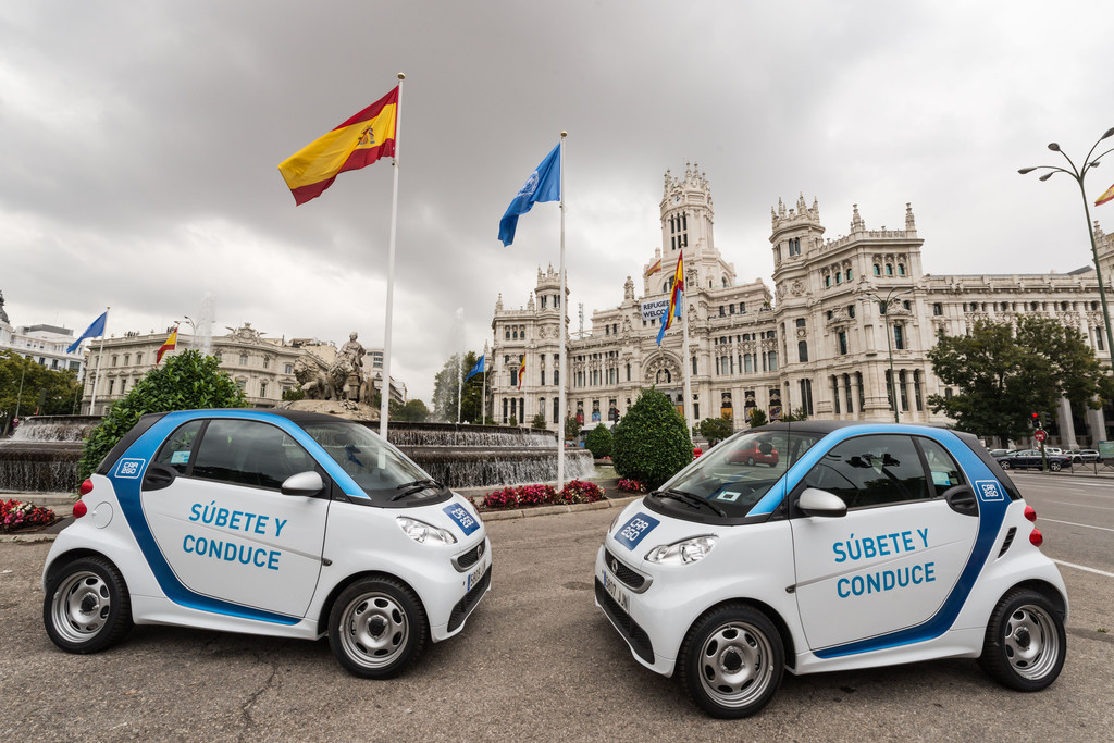 Car2go goes Madrid. © spothits/Auto-Medienportal.NetDaimler