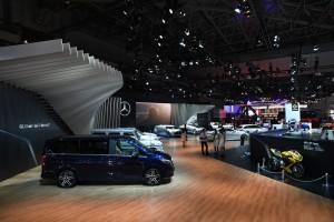 Mercedes-Benz V-Klasse für Japan und die Scheichs. © spothits/Auto-Medienportal.Net/Daimler