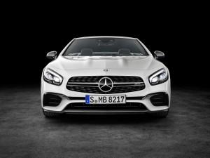 Los Angeles 2015: Bodybuilding für den Mercedes-Benz SL. © spothits/Auto-Medienportal.Net/Daimler