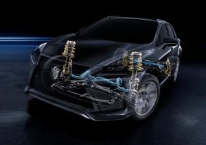 Der neue Lexus RX hängt am Haken. © spothits/Auto-Medienportal.Net/Lexus