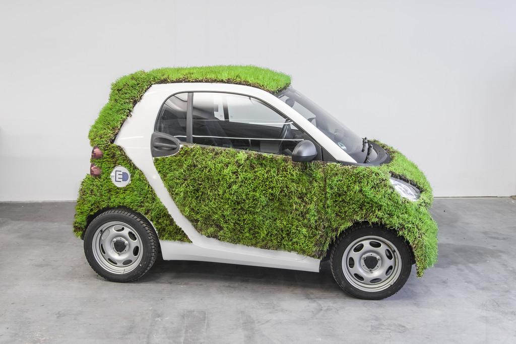 Smart begrünt Fortwo. © spothits/Auto-Medienportal.Net/Daimler