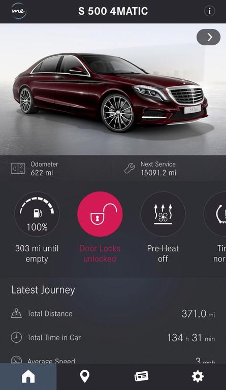 """Mercedes me""-App für Android verfügbar © spothits/Auto-Medienportal.Net/Daimler"