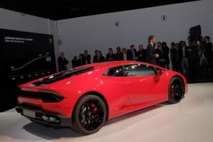 Los Angeles 2015: Lamborghini Huracan für Einsteiger. © spothits/Auto-Medienportal.Net