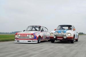 """Im Rückspiegel: Der """"Porsche des Ostens"""" wird 40 Jahre alt. © spothits/Auto-Medienportal.Net/Skoda"""