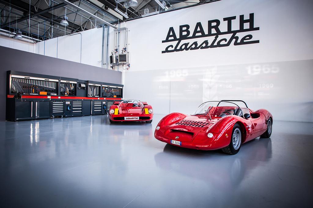 Abarth kümmert sich um Klassiker. © spothits/Auto-Medienportal.Net/Fiat