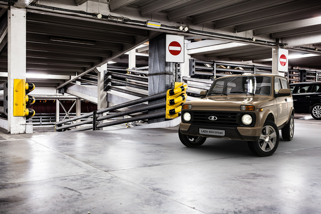 Lada 4x4 Urban: Offroader macht sich fein für die Stadt. © spothits/Auto-Medienportal.Net/Lada