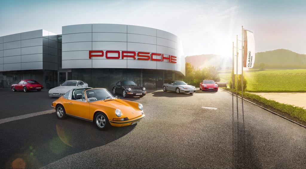 Porsche eröffnet erstes Classic-Zentrum. © spothits/Auto-Medienportal.Net/Porsche