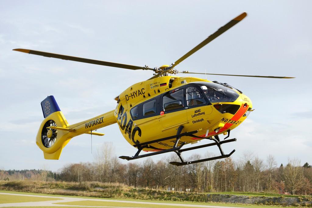 Neuer Rettungshubschrauber für Münchner ADAC-Luftretter. © spothits/Auto-Medienportal.Net/ADAC