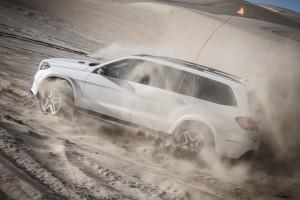 Eine Mitfahrt im Mercedes-Benz GLS 500: Wenn die Wildnis ruft. © spothits/Auto-Medienportal.Net/Daimler