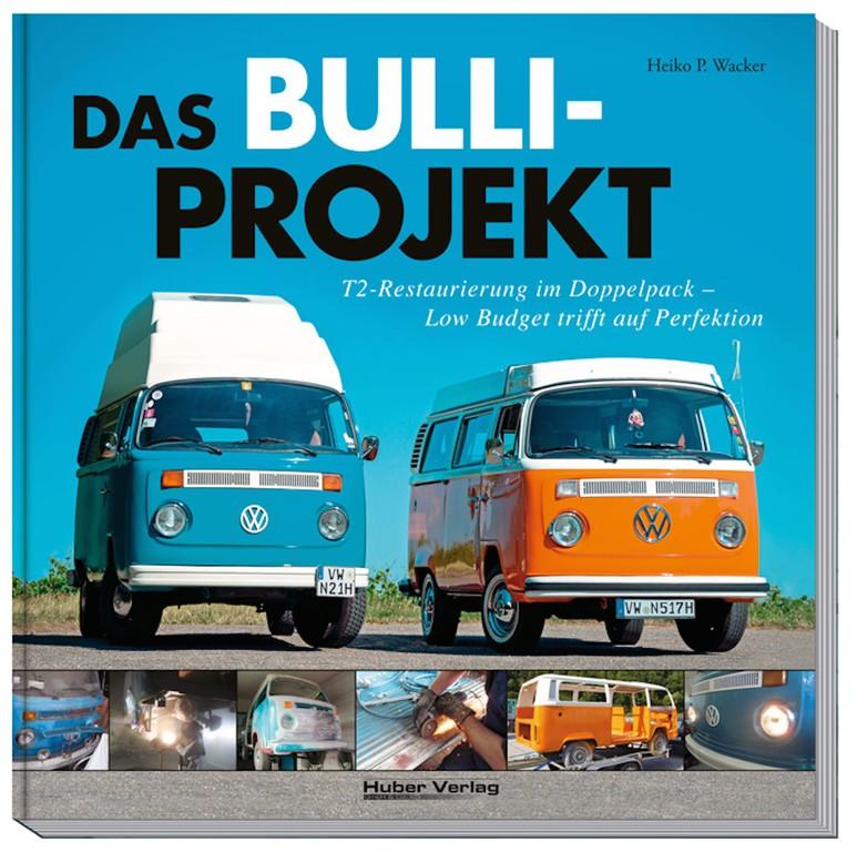 Im Bücherregal: Schraubers Glück – zwei Bulli-Projekte. © spothits/Auto-Medienportal.Net/Huber-Verlag