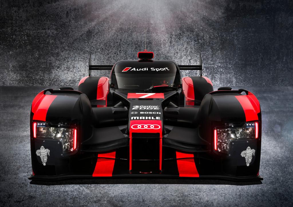 Audi tritt 2016 mit komplett neuem R18 in der WEC an. © spothits/Auto-Medienportal.Net/Audi