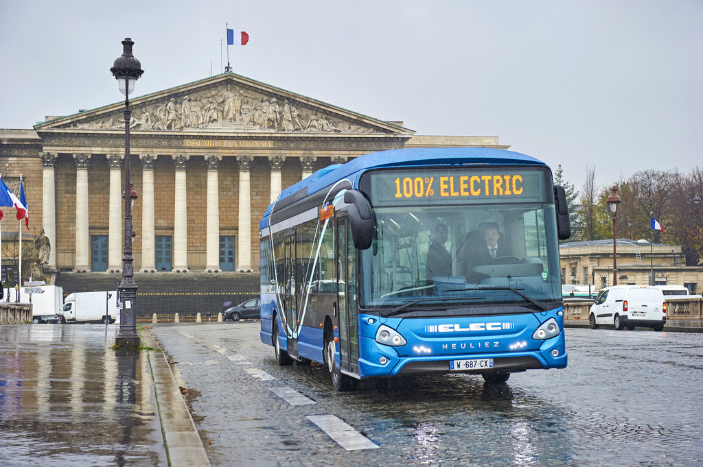 Paris erprobt Elektrobus von Heuliez. © spothits/Auto-Medienportal.Net/CNH Industrial