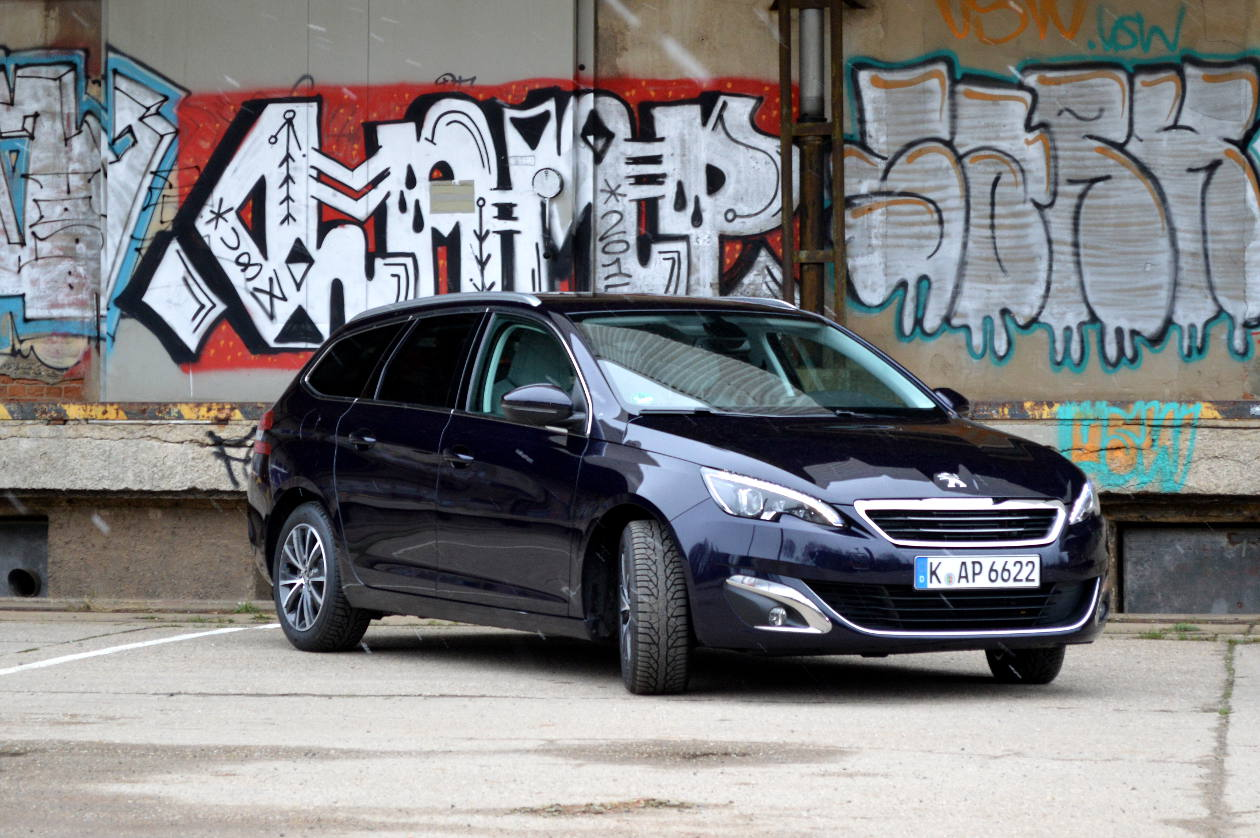 test peugeot 308 sw allure eine gute wahl spothits. Black Bedroom Furniture Sets. Home Design Ideas