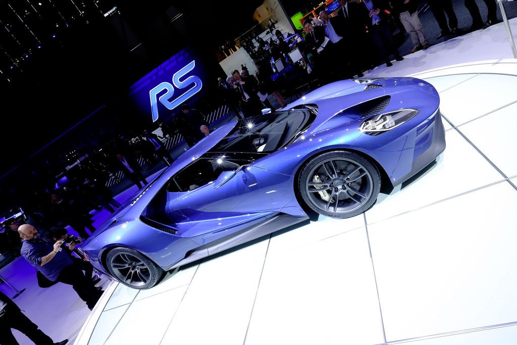 Ford nutzt beim GT Gorilla-Glas. © spothits/Auto-Medienportal.Net/Manfred Zimmermann