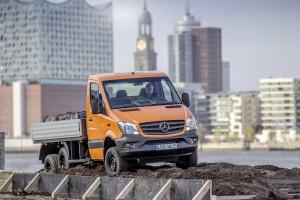 Mehr Mercedes-Benz Sprinter geht kaum: Der 6x6 von Oberaigner. © spothits/Auto-Medienportal.Net/Oberaigner/Bocklet/Bimobil