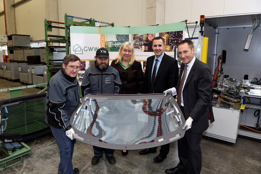 Mercedes-Benz setzt Zusammenarbeit mit Behindertenwerkstätten fort. © spothits/Auto-Medienportal.Net/Daimler