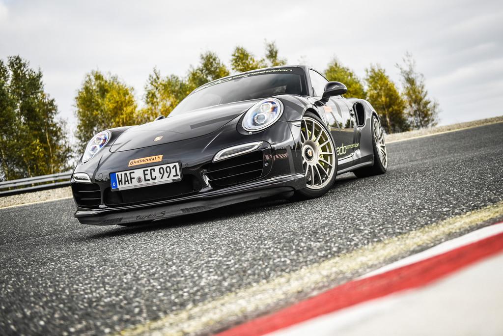 Neuer Geschwindigkeitsrekord für einen Porsche 911. © spothits/Auto-Medienportal.Net/Continental