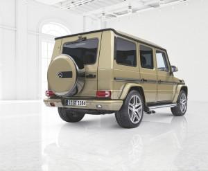 """Designo manufaktur"" für die G-Klasse. © spothits/Auto-Medienportal.Net/Daimler"