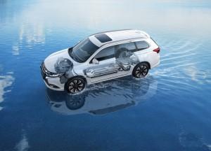 Mitsubishi verkauft 50 000 Hybrid-Outlander in Europa. © spothits/Auto-Medienportal.Net/Mitsubishi