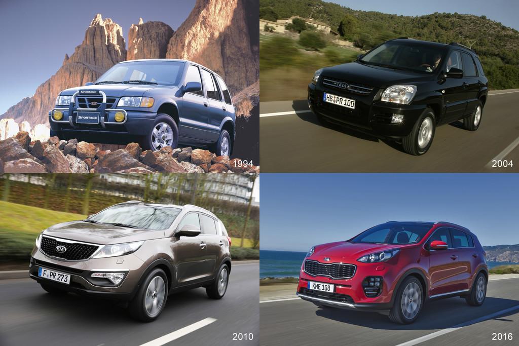 100 000 Kia Sportage in Deutschland verkauft. © spothits/Auto-Medienportal.Net/Kia