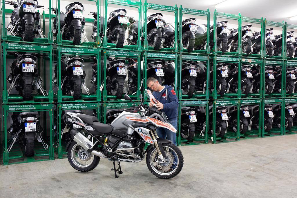 Leinen los für 114 BMW R 1200 GS. © spothits/Auto-Medienportal.Net/BMW
