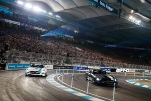 Das Rennen der Stars gewann Daniel Juncadella. © spothits/Auto-Medienportal.Net/Daimler
