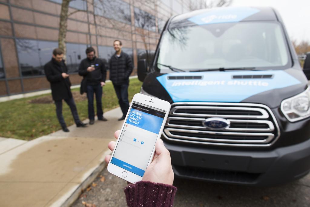 Ford testet zukünftige Shuttleangebote. © spothits/Auto-Medienportal.Net