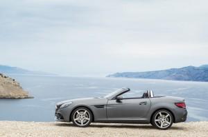 Detroit 2016: Aus SLK wird SLC. © spothits/Auto-Medienportal.Net/Daimler