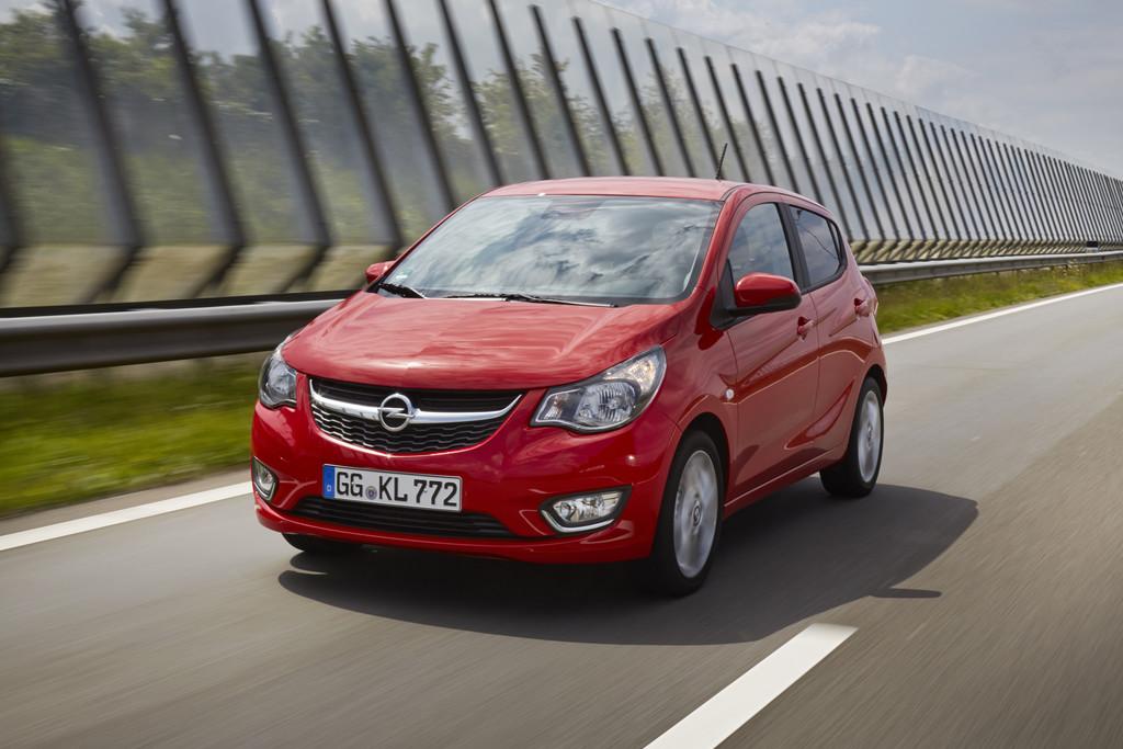 Intellilink auch für Opel Karl. © spothits/Auto-Medienportal.Net/Opel
