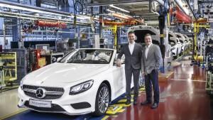 Produktionsstart des S-Klasse Cabrio. © spothits/Auto-Medienportal.Net/Daimler