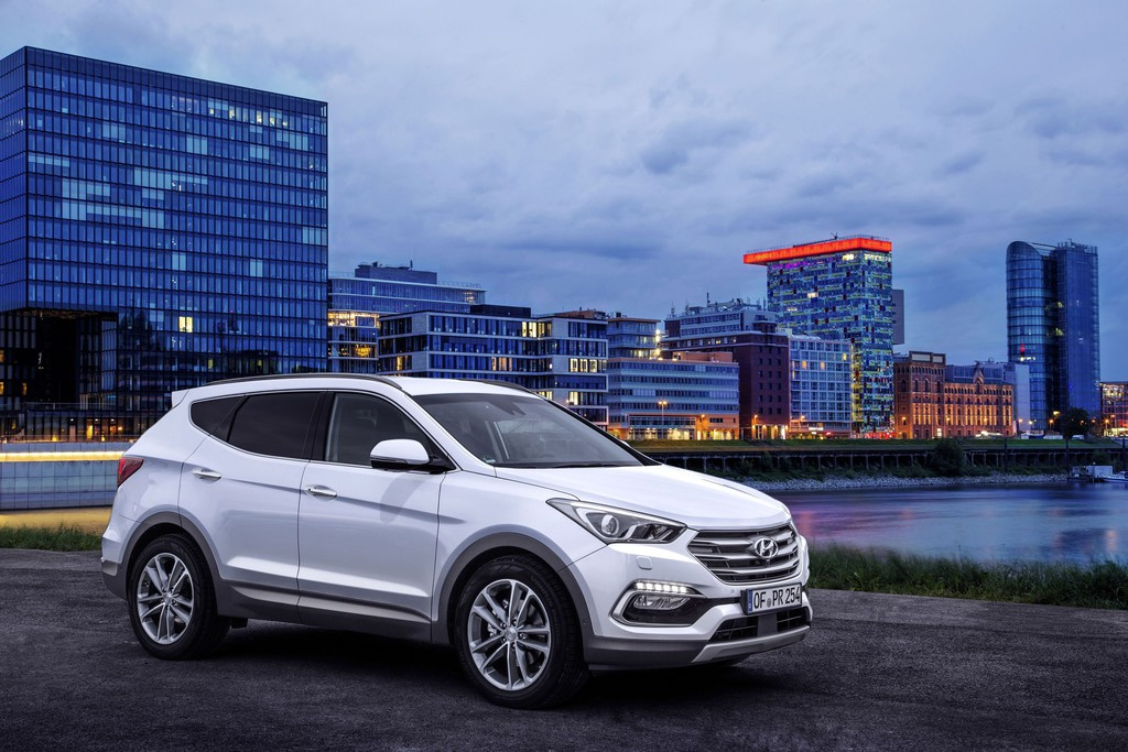 Hyundai Sante Fe mit Feinschliff ins nächste Modelljahr. © spothits/Auto-Medienportal.Net/Hyundai