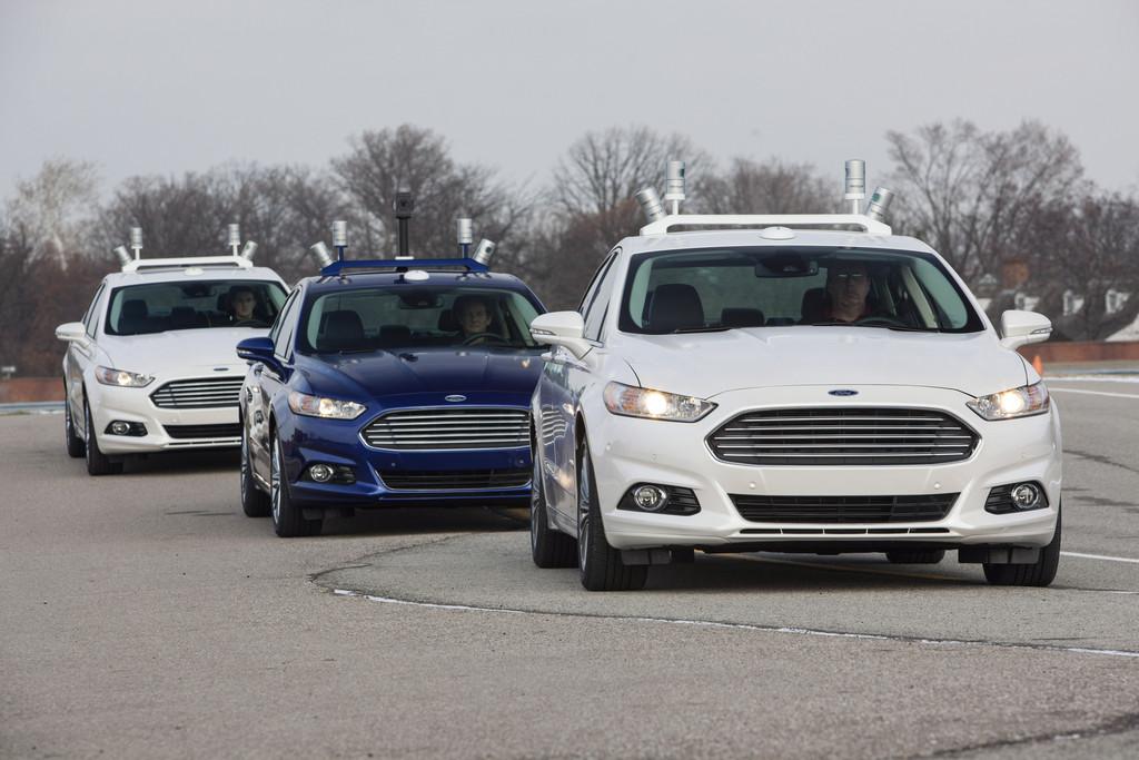 Ford fährt autonom im Straßenverkehr. © spothits/Auto-Medienportal.Net/Ford