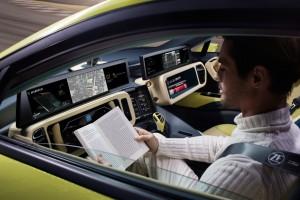 CES 2016: Rinspeed fährt mit dem Etos in die Zukunft. © spothits/Auto-Medienportal.Net/Rinspeed
