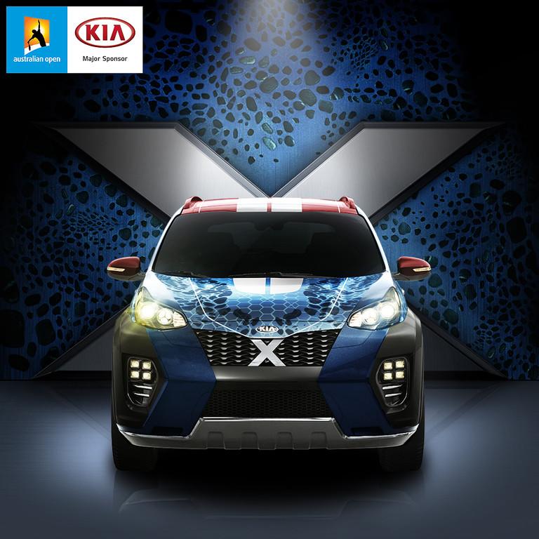 Ein Kia Sportage für die X-Men. © spothits/Auto-Medienportal.Net/Kia
