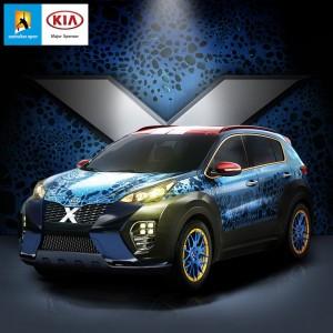 Ein Kia Sportage für die X-Men. © spothits/Auto-Medienportal.Net/KiaEin Kia Sportage für die X-Men. © spothits/Auto-Medienportal.Net/Kia