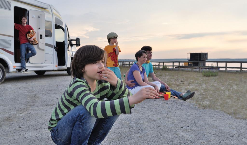 Camping- und Wohnmobilstellplätze im Lausitzer Neuseenland. © spothits/Tourismusverband Lausitzer Seenland e.V., Foto: Nada Quenzel
