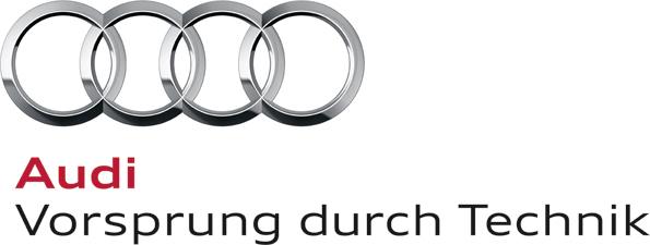 Audi lieferte 1,8 Millionen Fahrzeuge aus. © spothits/Logo Audi