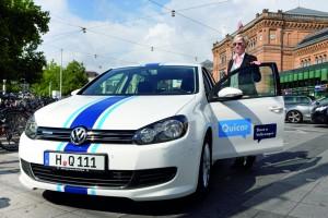 Aus Quicar wird Greenwheels. © spothits/Auto-Medienportal.Net/Volkswagen