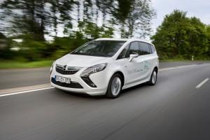 Opel Zafira Tourer 1.6 CNG umweltfreundlichster Van. © spothits/Auto-Medienportal.Net/Opel