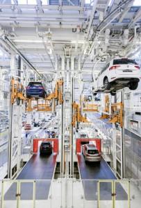 VW-Stammwerk produziert über 815 000 Autos. © spothits/Auto-Medienportal.Net/Volkswagen