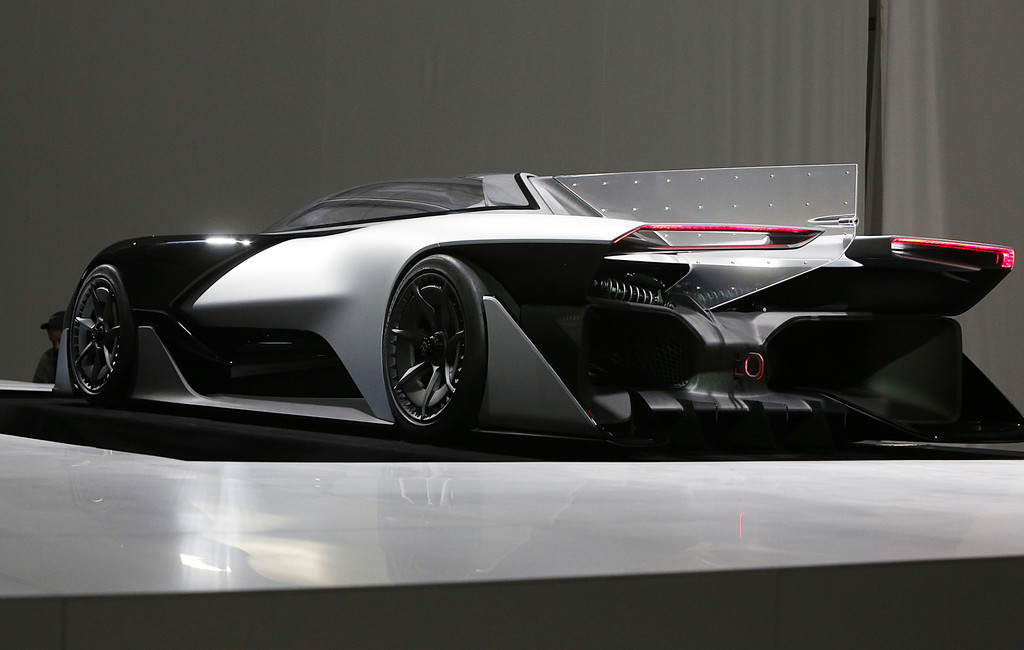 CES 2016: Faraday Future – Tablet auf Rädern. © spothits/Auto-Medienportal.Net/Faraday Future