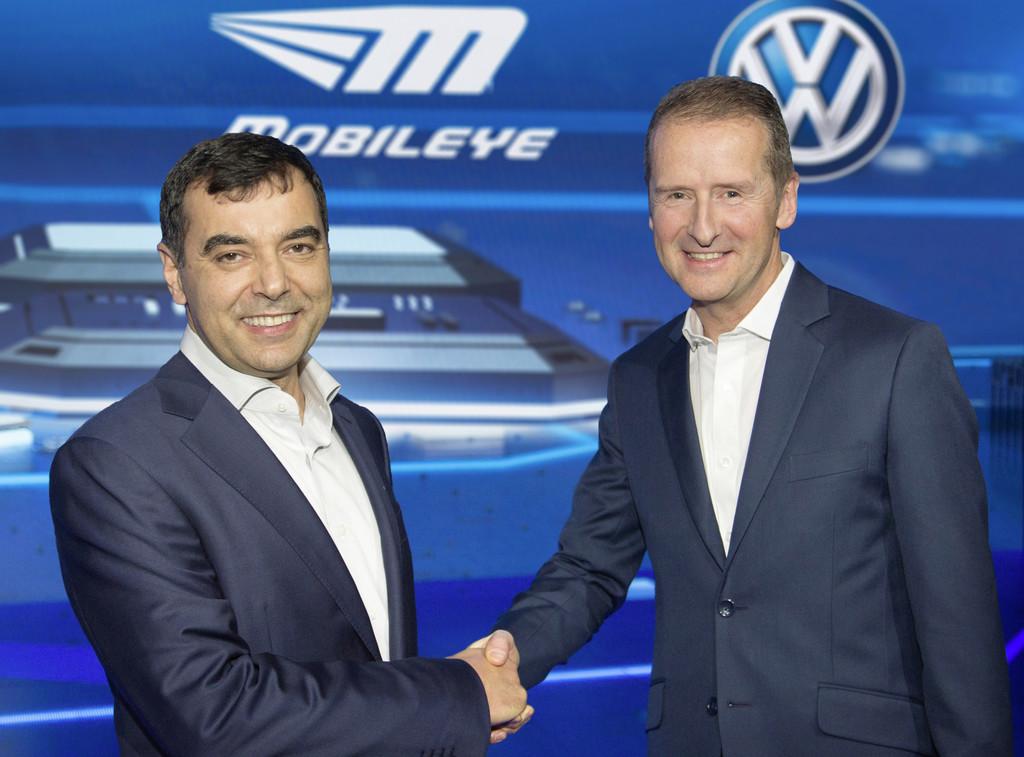 VW setzt auf Mobileye. © spothits/Auto-Medienportal.Net/Volkswagen