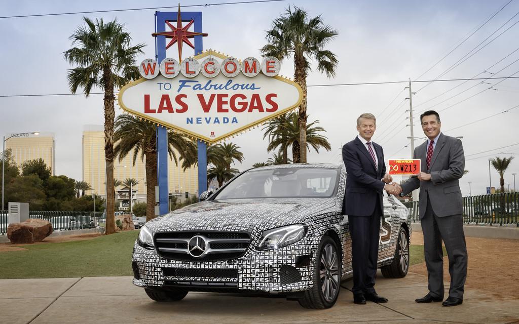 Die E-Klasse darf autonom durch Nevada fahren. © spothits/Auto-Medienportal.Net/Daimler