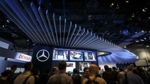 CES 2016: Mercedes-Benz präsentiert Next Level User Experience. © spothits/ Auto-Medienportal.Net/Daimler