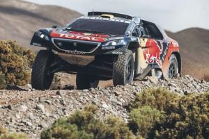 Dakar 2016: Peugeot zur Halbzeit in Führung. © spothits/Auto-Medienportal.Net/Peugeot