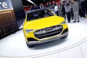 Detroit 2016: Audi spendiert dem SUV eine Brennstoffzelle. © spothits/Auto-Medienportal.Net / Manfred Zimmermann
