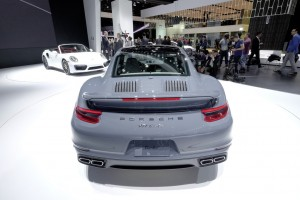 Detroit 2016: Noch mehr Power für den Porsche-Klassiker. © spothits/Auto-Medienportal.Net / Manfred Zimmermann