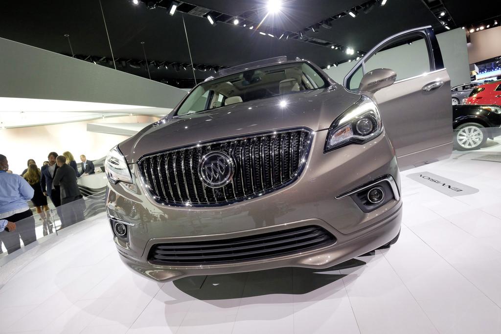 Detroit 2016: Buick Envision – der nächste Opel Antara? © spothits/Auto-Medienportal.Net / Manfred Zimmermann