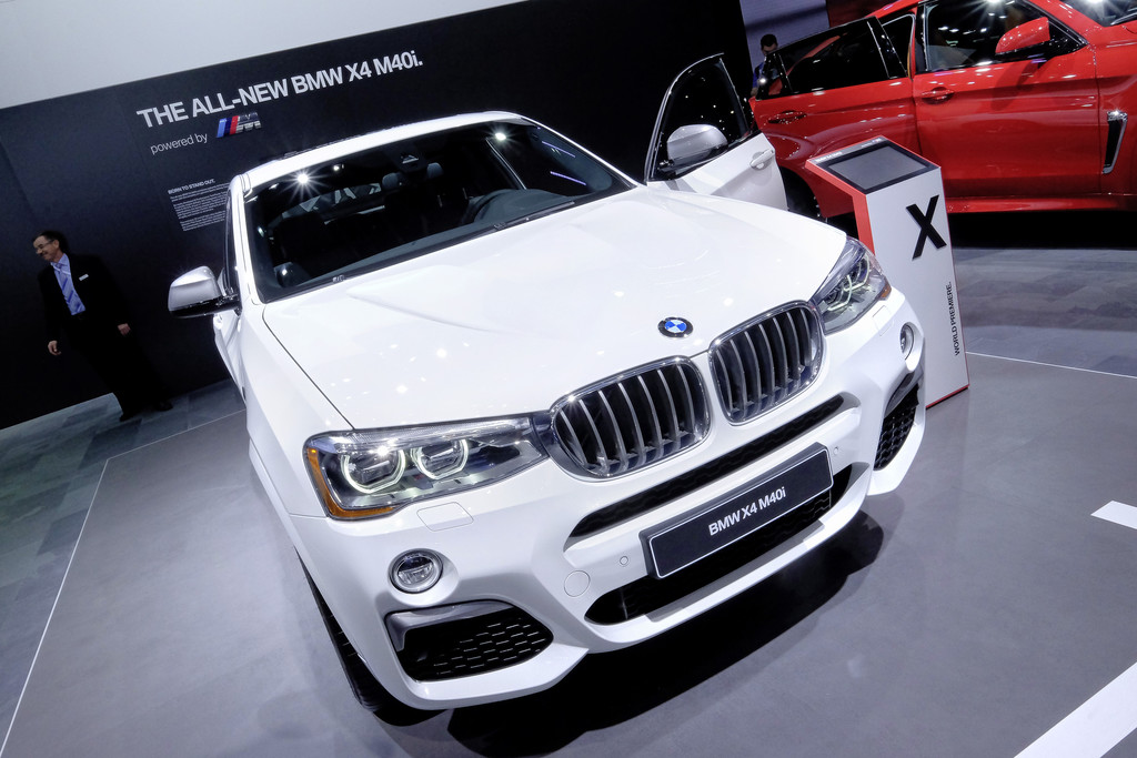 Detroit 2016: BMW X4 mit neuem M-Motor. © spothits/Auto-Medienportal.Net / Manfred Zimmermann